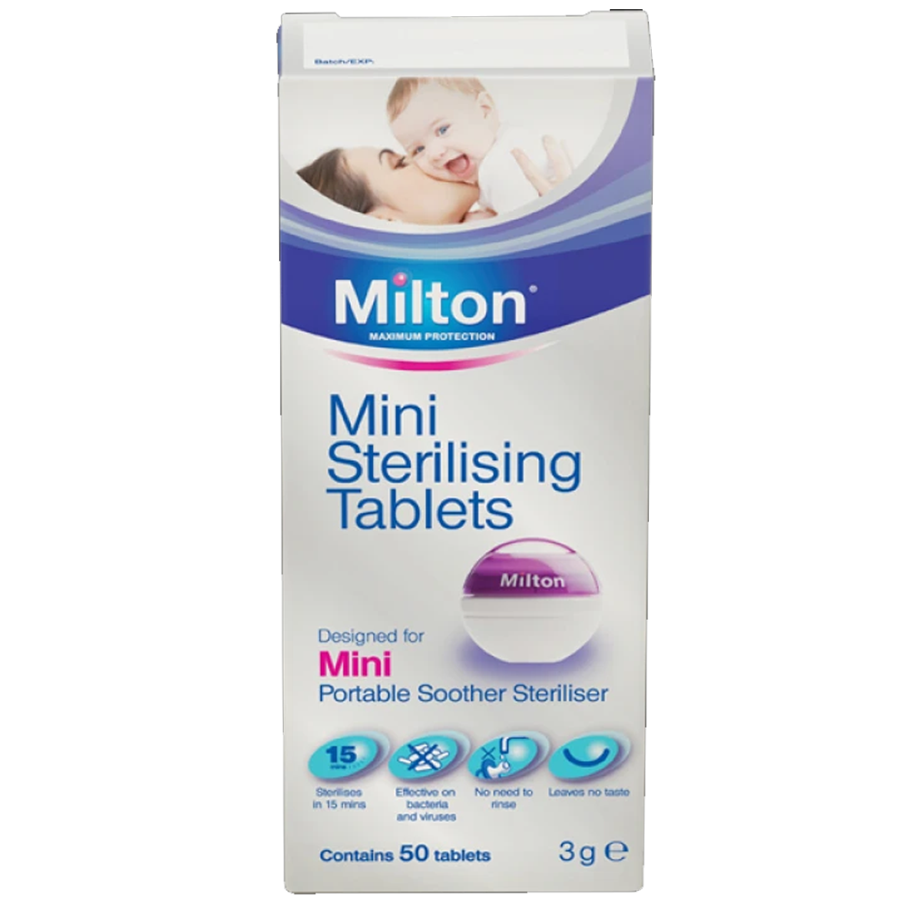Milton Mini Sterilising Tablets 50s