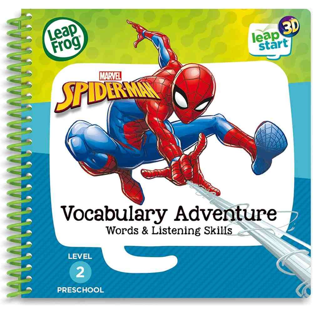 Leapfrog Spiderman Vocabulary Book