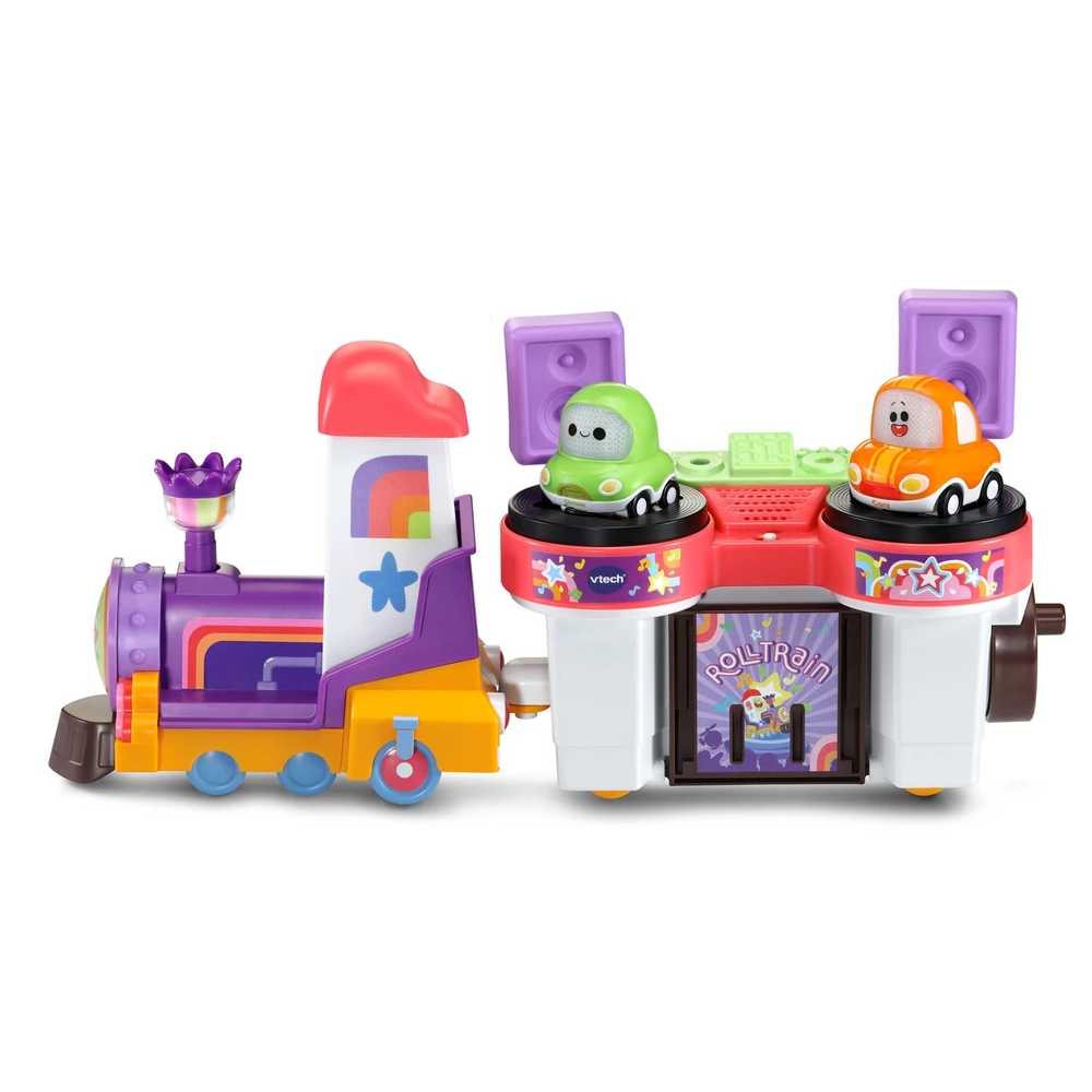 Vtech Toot-Toot Cory Carson® DJ Train Trax & the Roll Train