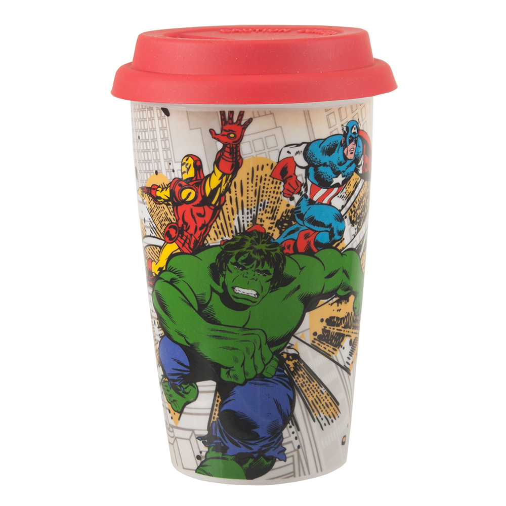Marvel Comic Travel Mug